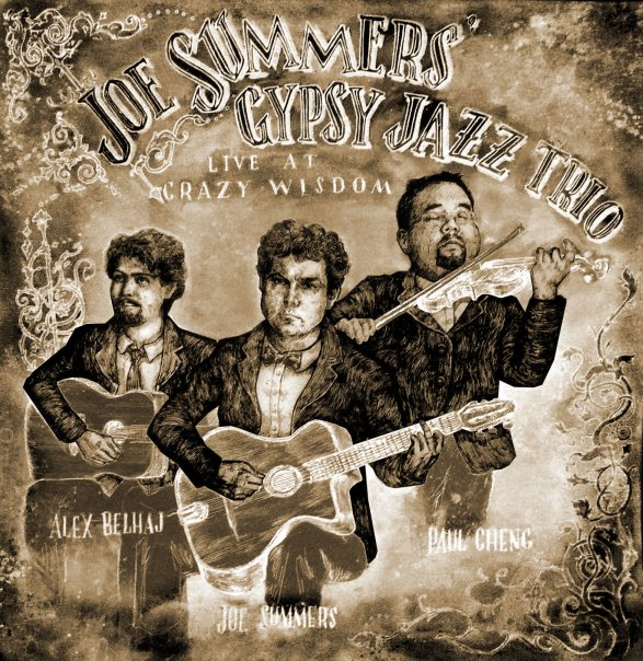 Joe Summers Gypsy Jazz Trio